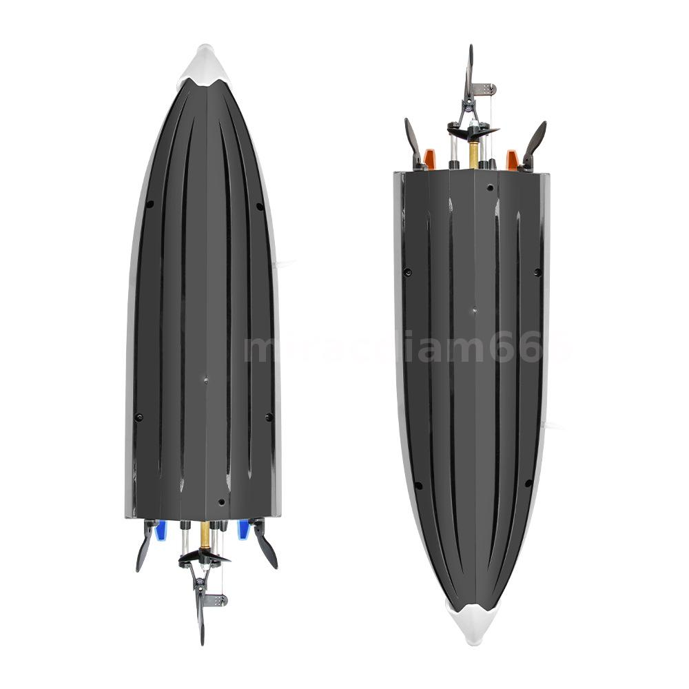Remote Control Racing Boat 30KM//H High Speed IPV7 Waterproof 2.4GHz 4CH Toy A7W6