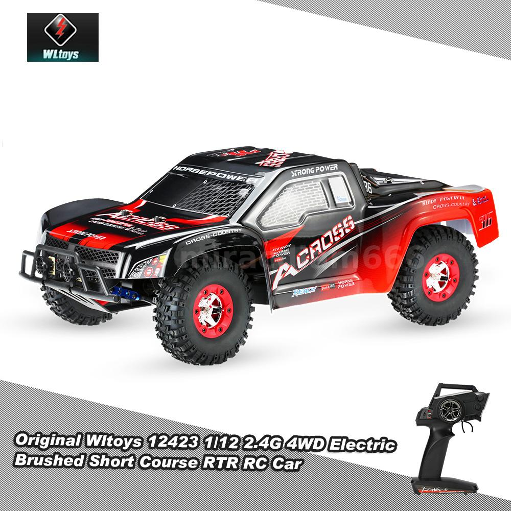 Details About Wltoys 12423 1 12 2 4g 4wd Electric Brushed Short Course Rtr Rc Racing Car B7z9