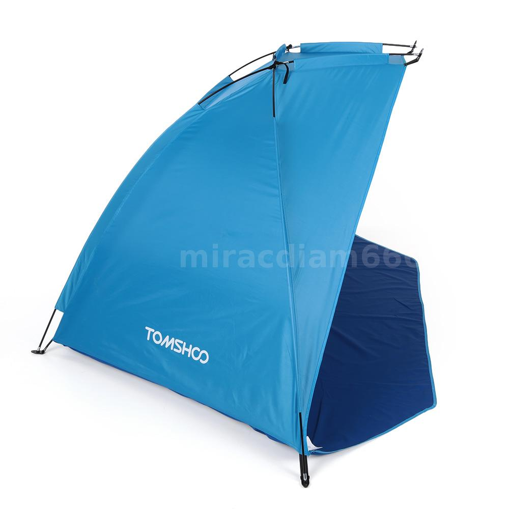automatic pop up beach tent canopy sun shade shelter outdoor camping tent usa ebay. Black Bedroom Furniture Sets. Home Design Ideas